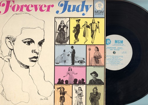 Garland, Judy - Forever Judy: Over The Rainbow, The Trolly Song, You Made Me Love You, Singin' In The Rain, You Can't Get A Man With A Gun (Vinyl LP record, DJ advance pressing) - NM9/EX8 - LP Records