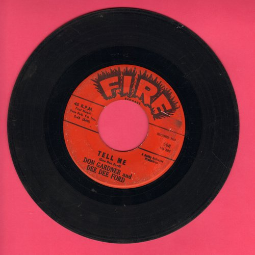 Gardener, Don & Dee Dee Ford - Tell Me/I Need Your Loving  - VG7/ - 45 rpm Records