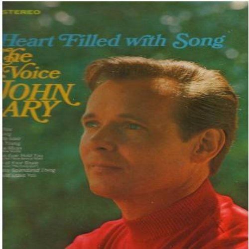 Gary, John - A Heart Filled With Song: Till, What Now My Love, Yesterday, Love Is A Many-Splendored Thing (Vinyl STEREO LP record) - NM9/EX8 - LP Records