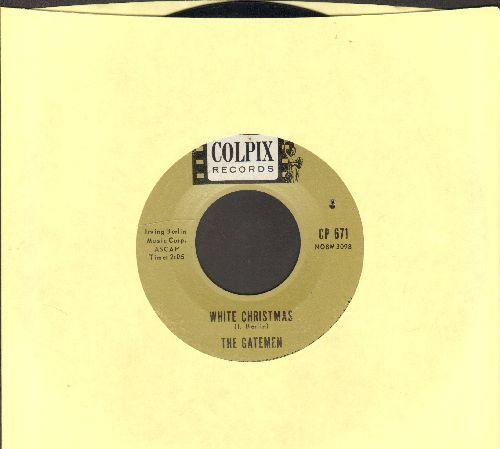 Gatemen - White Christmas/Silent Night - EX8/ - 45 rpm Records