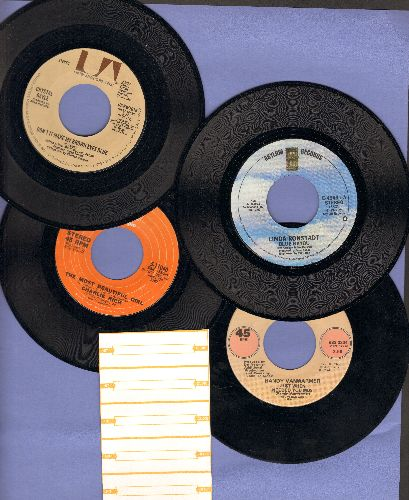 Gayle, Crystal, Charlie Rich, Linda Ronstadt, Randy Vanwarmer - 70s Love Ballads 4-Pack: Hits include Don't It Make My Brown Eyes Blue, The Most Beautiful Girl, Blue Bayou and Just When I Needed You Most. Shipped in plain white paper sleeves with 5 blank