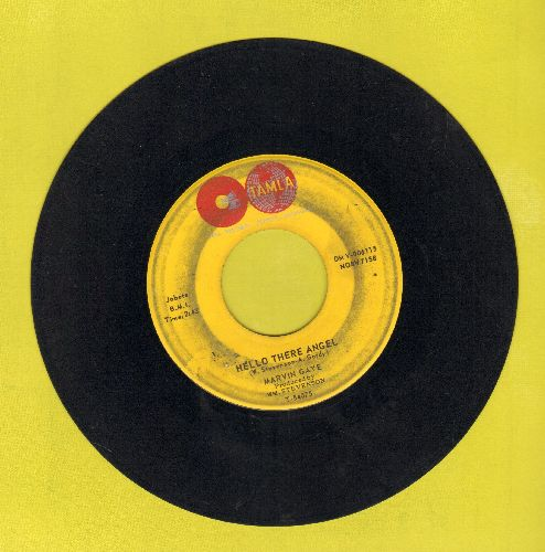 Gaye, Marvin - Hello There Angel/Hitch Hike (wol) - VG7/ - 45 rpm Records