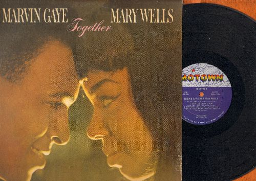 Gaye, Marvin & Mary Wells - Together: Until I Met You, You Came A Long Way From St. Louis, Deed I Do, Once Upon A Time (Vinyl MONO LP record) - EX8/VG6 - LP Records