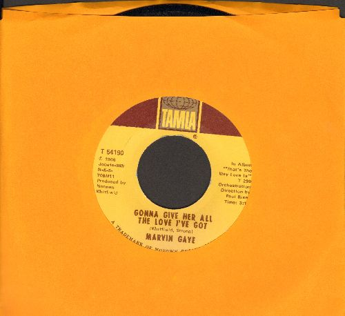Gaye, Marvin - How Can I Forget/Gonna Give Her All The Love I've Got - EX8/ - 45 rpm Records