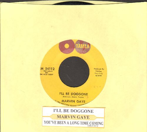 Gaye, Marvin - I Heard It Through The Grapevine/You're What's Happening (with juke box label)  - NM9/ - 45 rpm Records