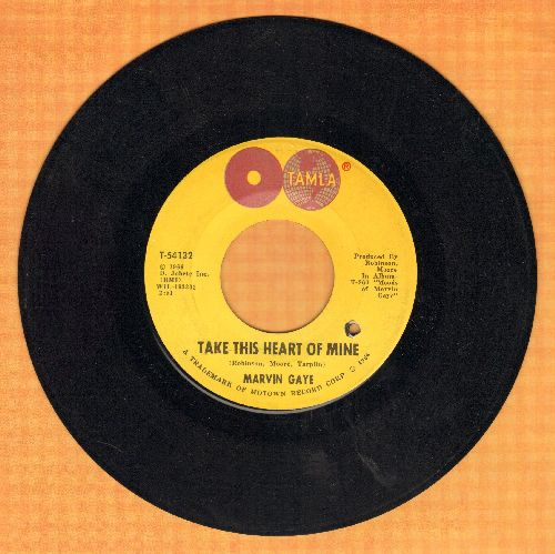 Gaye, Marvin - Take This Heart Of Mine/Need Your Lovin' (Want You Back) (bb) - EX8/ - 45 rpm Records