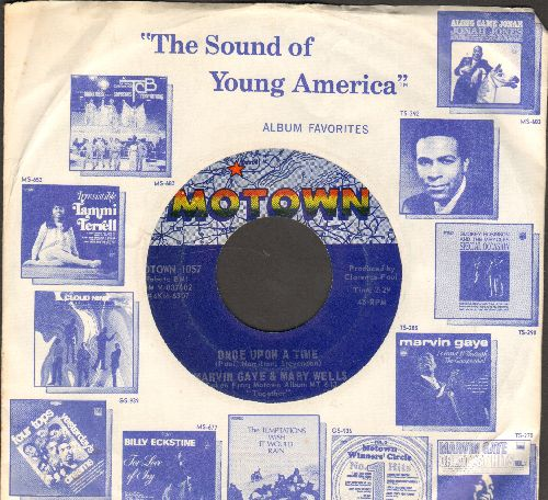 Gaye, Marvin & Mary Wells - Once Upon A Time/What's The Matter With You Baby (with Motown company sleeve) - EX8/ - 45 rpm Records