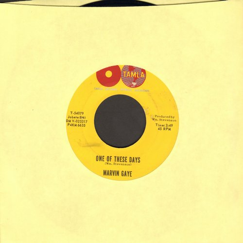 Gaye, Marvin - One Of These Days/Pride And Joy - EX8/ - 45 rpm Records