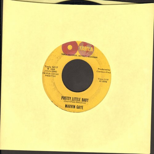 Gaye, Marvin - Pretty Little Baby/Now That You've Won Me (2 globes first issue) (bb) - EX8/ - 45 rpm Records