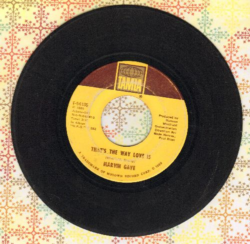 Gaye, Marvin - That's The Way Love Is/Gonna Keep On Tryin'  - G5/ - 45 rpm Records