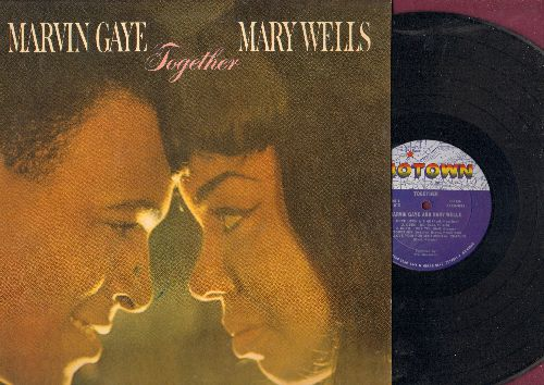 Gaye, Marvin & Mary Wells - Together: Until I Met You, You Came A Long Way From St. Louis, Deed I Do, Once Upon A Time (Vinyl MONO LP record) - NM9/NM9 - LP Records