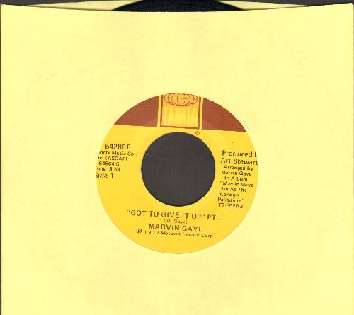 Gaye, Marvin - Wholy Holy/Inner City Blues (Make Me Wanna Holler) - NM9/ - 45 rpm Records