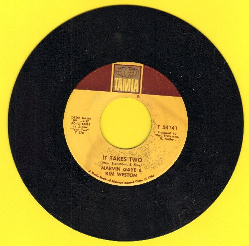 Gaye, Marvin & Kim Weston - It Takes Two/It's Got To Be A Miracle (This Thing Called Love) - VG7/ - 45 rpm Records