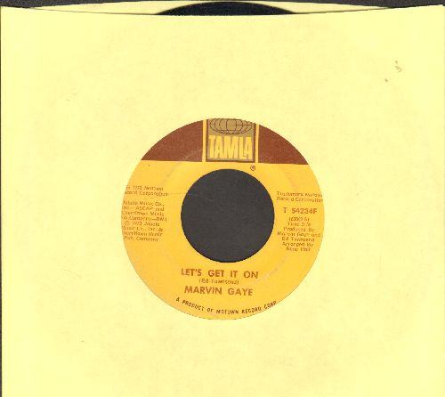 Gaye, Marvin - Let's Get It On/I Wish It Would Rain - VG7/ - 45 rpm Records