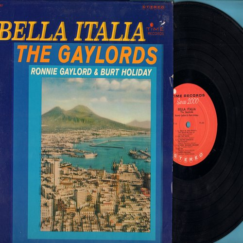 Gaylords - Bella Italia: Quando Quando Quando, Marina, Tango Italiano, Il Cielo In Una Stanza (Vinyl STEREO LP record) - EX8/EX8 - LP Records