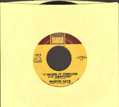 Gaye, Marvin - I Heard It Through The Grapevine/You're What's Happening  - VG7/ - 45 rpm Records