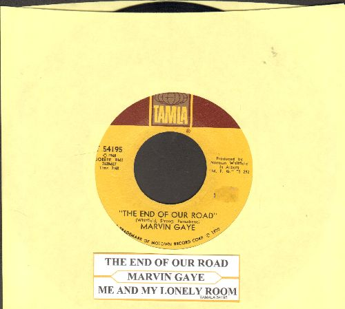 Gaye, Marvin - The End Of Our Road/Me And My Lonely Room (with juke box label) - NM9/ - 45 rpm Records