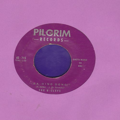 G-Clefs - Ka-Ding-Dong/Darla, My Darling - VG7/ - 45 rpm Records