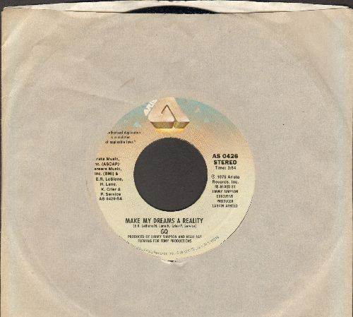 G.Q. - Make My Dreams A reality/I Do Love You (with Arista company sleeve) - NM9/ - 45 rpm Records
