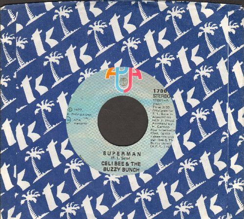 Celi Bee & The Buzzy Bunch - Superman/Hurt Me, Hurt Me  - VG7/ - 45 rpm Records