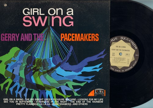 Gerry & The Pacemakers - Girl On A Swing: See You In September, Gunatanamera, At The End Of The Rainbow, La La La, Pretty Flamingo (vinyl STEREO LP record, small punch hole in upper left corner of cover) - NM9/EX8 - LP Records