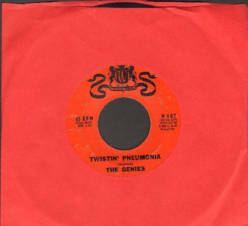 Genies - Twistin' Pneumonia/Just Like The Bluebird - VG7/ - 45 rpm Records