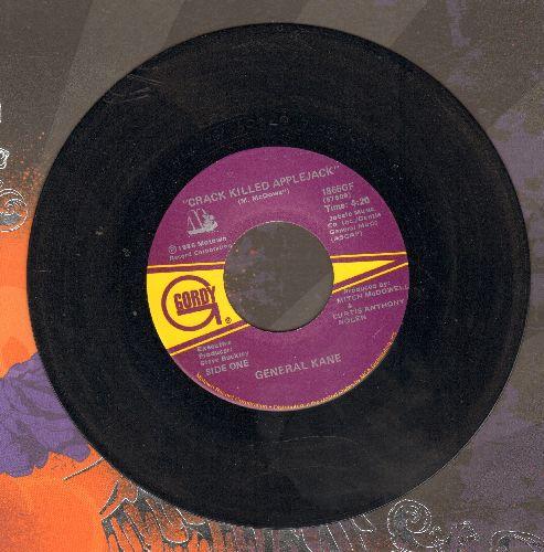 General Kane - Crack Killed Applejack/Applejack's Theme - NM9/ - 45 rpm Records