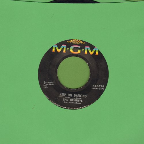 Gentrys - Keep On Dancing/Make Up Your Mind  - VG7/ - 45 rpm Records
