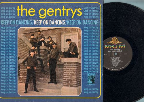 Gentrys - Keep On Dancing: Hang On Sloopy, Do You Love Me, So Sad (To Watch Good Love Go Bad), Hand Jive (Vinyl MONO LP record) - EX8/VG7 - LP Records