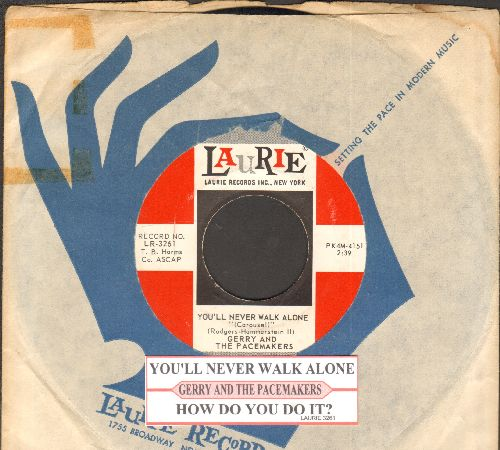 Gerry & The Pacemakers - You're The Reason/Give All Your Love To Me (with juke box label and company sleeve) - NM9/ - 45 rpm Records