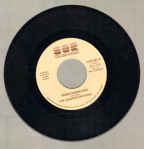 Geezinlaw Bros. - Yabba Dabba Doo/Nobody Doesn't Love Lucy - NM9/ - 45 rpm Records