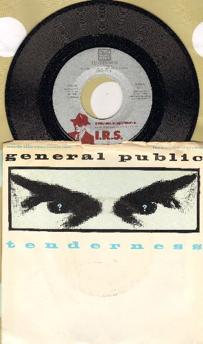 General Public - Tenderness/Limited Balance (with picture sleeve) - NM9/VG7 - 45 rpm Records