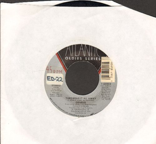 Genesis - Throwing It All Away/Invisible Touch (double-hit re-issue) - NM9/ - 45 rpm Records