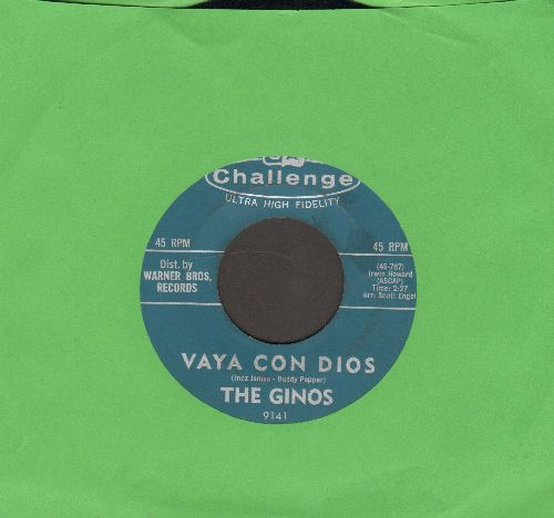 Ginos - Vaya Con Dios/I Can't Go On - NM9/ - 45 rpm Records