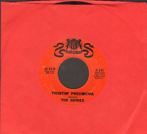Genies - Twistin' Pneumonia/Just Like The Bluebird - EX8/ - 45 rpm Records