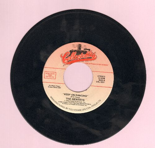 Gentrys - Keep On Dancing/Maggie May (by Rod Stewart on flip-side) (re-issue) - EX8/ - 45 rpm Records