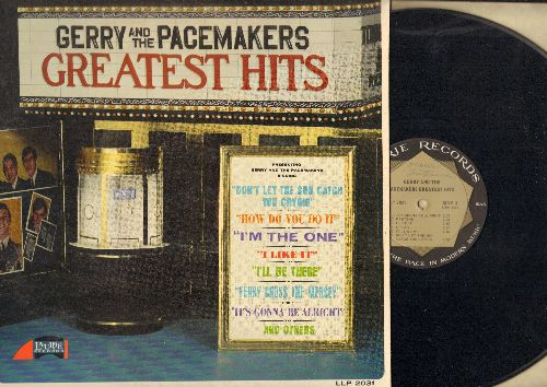 Gerry & The Pacemakers - Greatest Hits: How Do You Do It?, I Like It, Ferry Cross The Mersey, Don't Let The Sun Catch You Crying (Vinyl MONO LP record) - EX8/EX8 - LP Records