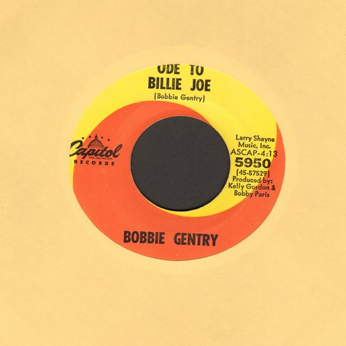 Gentry, Bobbie - Ode To Billy Joe/Mississippi Delta (MINT condition) - M10/ - 45 rpm Records