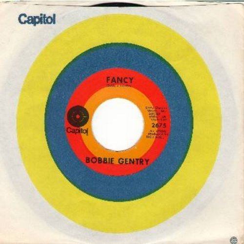 Gentry, Bobbie - Fancy/Courtyard (with Capitol company sleeve) - VG7/ - 45 rpm Records