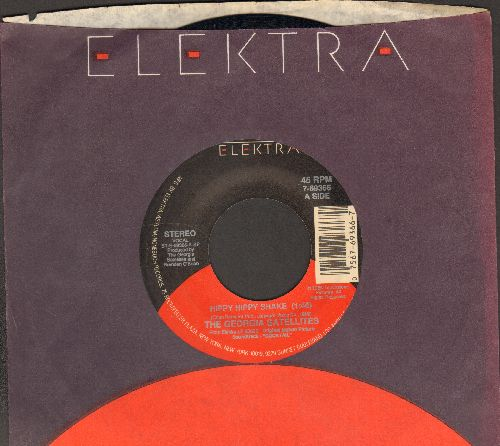 Georgia Satellites - Hippy Hippy Shake/Hand To Mouth (with Elektra company sleeve) - EX8/ - 45 rpm Records