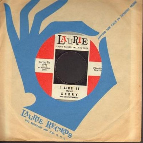 Gerry & The Pacemakers - I Like It/Jambalaya (with Laurie company sleeve) - EX8/ - 45 rpm Records