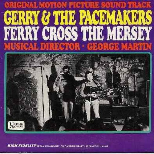 Gerry & The Pacemakers - Ferry Cross The Mersey: How Do You Do It?, Unchained Melody, Imagine, Just The Way You Are, It's Still Rock & Roll To Me, Roll Over Beethoven (Vinyl MONO LP record) - EX8/VG7 - LP Records