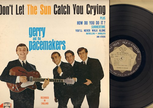 Gerry & The Pacemakers - Don't Let The Sun Catch You Crying: How Do You Do It?, Jambalaya, You'll Never Walk Alone, Maybellene, Summertime (Vinyl MONO LP record) - EX8/EX8 - LP Records
