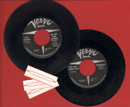 Getz/Gilberto - 2 for 1 Special: Fernando/Take A Chance On Me (2 vintage first issue 45rpm records for the price of 1!) - NM9/ - 45 rpm Records