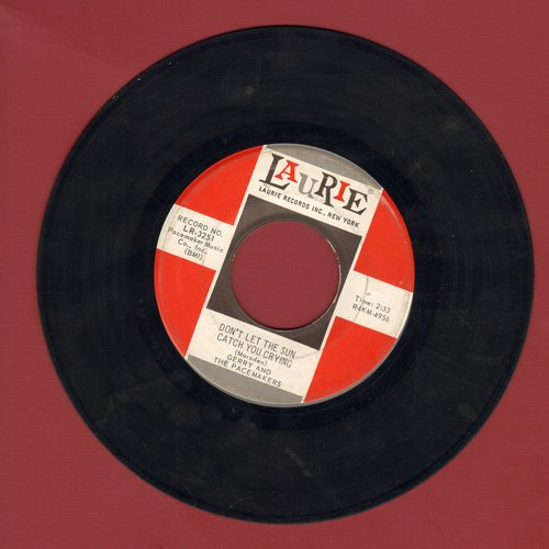 Gerry & The Pacemakers - Don't Let The Sun Catch You Crying/Away From You - EX8/ - 45 rpm Records