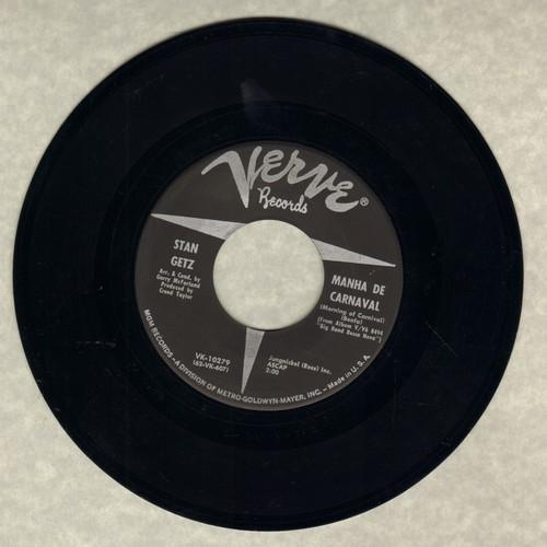 Getz, Stan - Balanco No Samba/Manha De Carnaval - NM9/ - 45 rpm Records