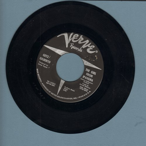 Getz/Gilberto - The Girl From Ipanema/Blowing In The Wind - EX8/ - 45 rpm Records