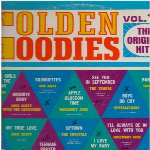 Evans, Paul, Echoes, Tempos, Gloria Mann, others - Golden Goodies Vol. 16: Seven Little Girls Sitting In The Back Seat, Uptown, Baby Blue, See You In September, Teenage Prayer (Vinyl LP record) - NM9/VG7 - LP Records