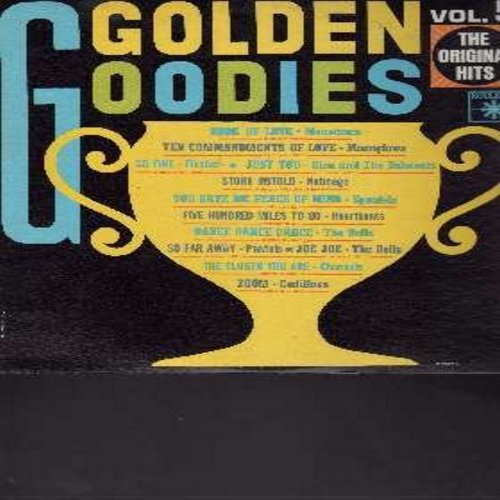 Monotones, Spaniels, Heartbeats, Cadillacs, others - Golden Goodies Vol. 5: Book Of Love, Story Untold, Five Hundred Miles To Go, Zoom, The Closer You Are (Vinyl MONO LP record) - NM9/NM9 - LP Records
