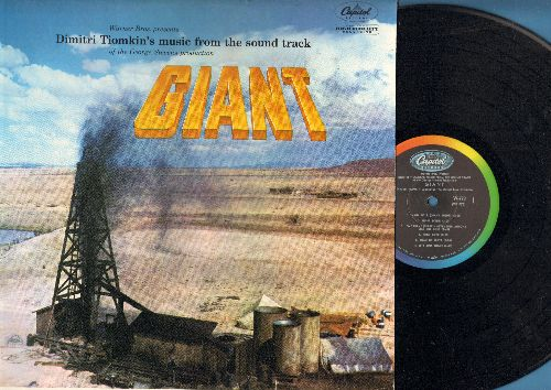 Giant - Giant - Original Motion Picture Sound Track (Vinyl MONO LP record, rainbow-circle label, NICE condition!) - NM9/NM9 - LP Records
